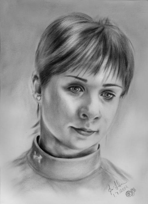 Alena Leonova par Sladi